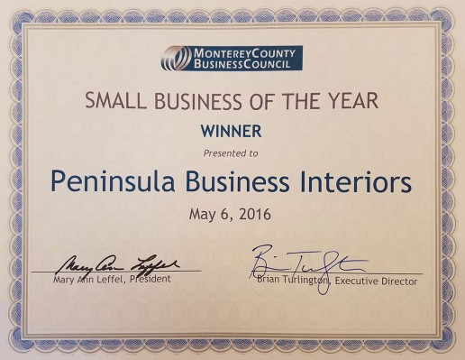 Small Business of the Year 2016